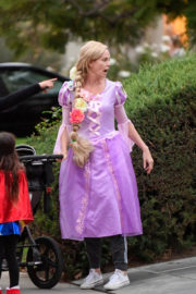 Charlize Theron Stills Heading to a Halloween Party in Los Angeles