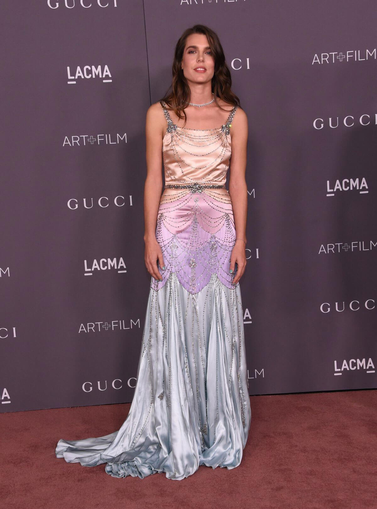 Charlotte Casiraghi Stills at 2017 LACMA Art + Film Gala in Los Angeles