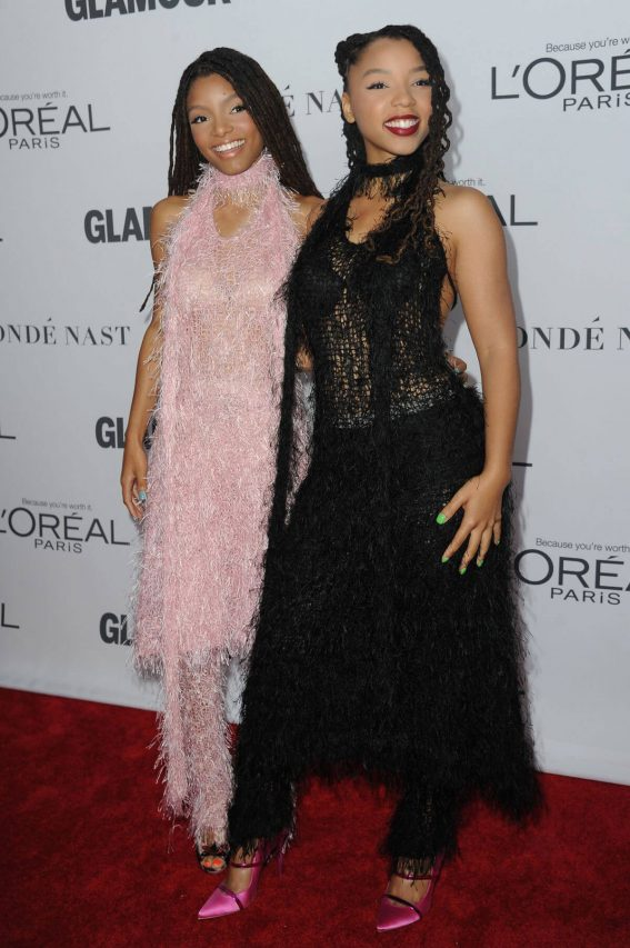 Chloe and Halle Bailey Stills at Glamour Women of the Year Summit in New York
