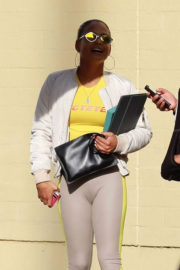 Christina Milian Stills Out for Lunch at Granville in Studio City
