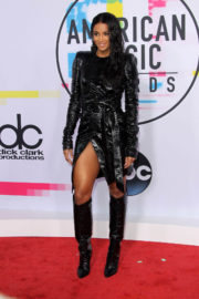 Ciara Stills at American Music Awards 2017 in Los Angeles