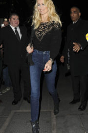 Claudia Schiffer Stills Heading to Sign Her New Book in London
