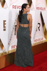 Claudia Sulewski wears Stylish Dress at #revolveawards in Hollywood