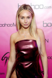 Corinne Olympios Stills at boohoo.com LA Pop-up Store Launch Party in Los Angeles