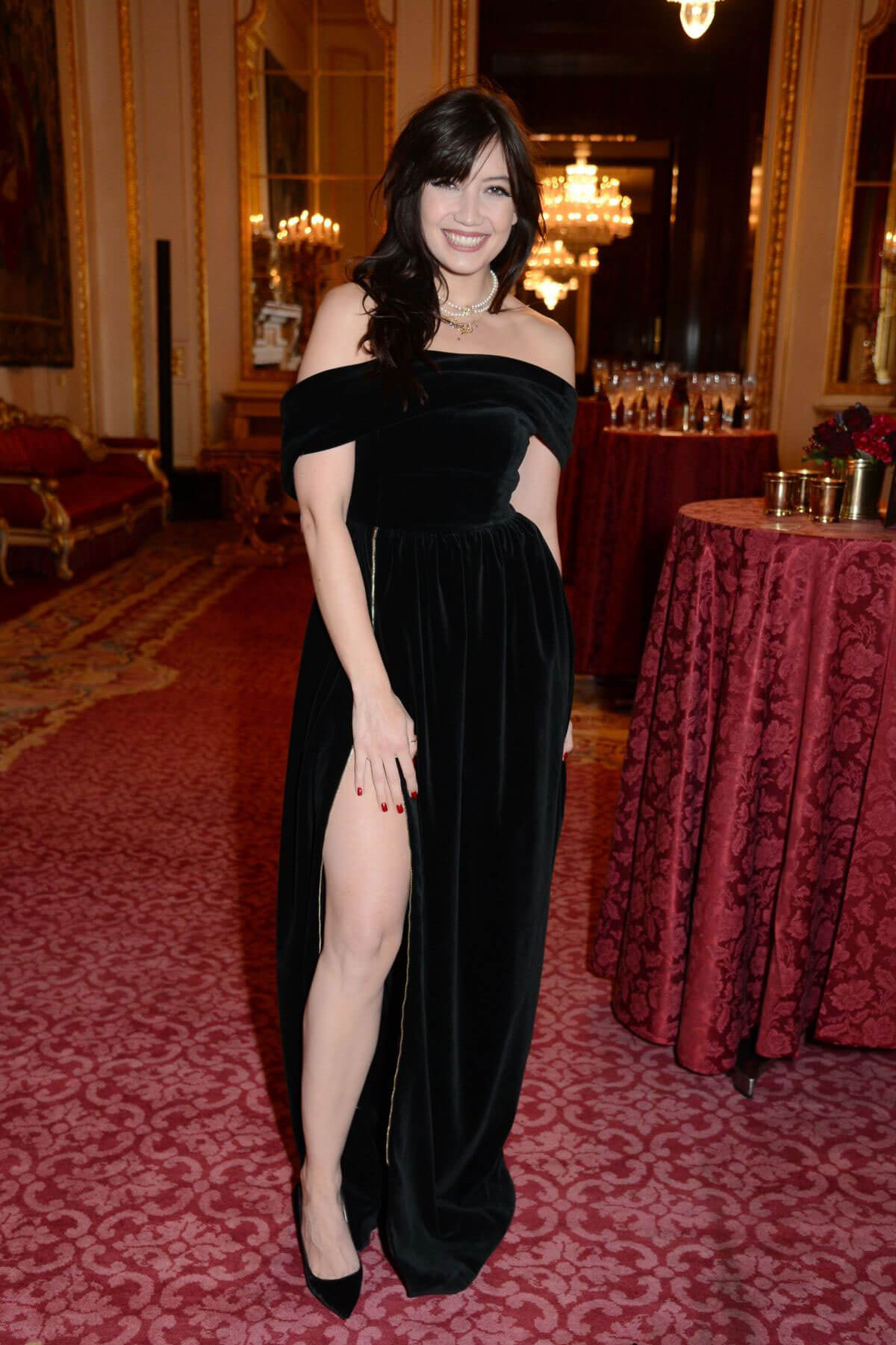 Daisy Lowe Stills at Leopard Awards in Aid of the Prince's Trust in London