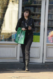 Daisy Lowe Stills Out Shopping in Primrose Hill