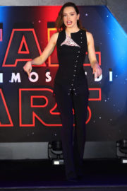 Daisy Ridley Stills at Star Wars: The Last Jedi Event in Mexico City