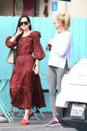 Dakota Johnson and Melanie Griffith Stills Out for Coffee in West Hollywood