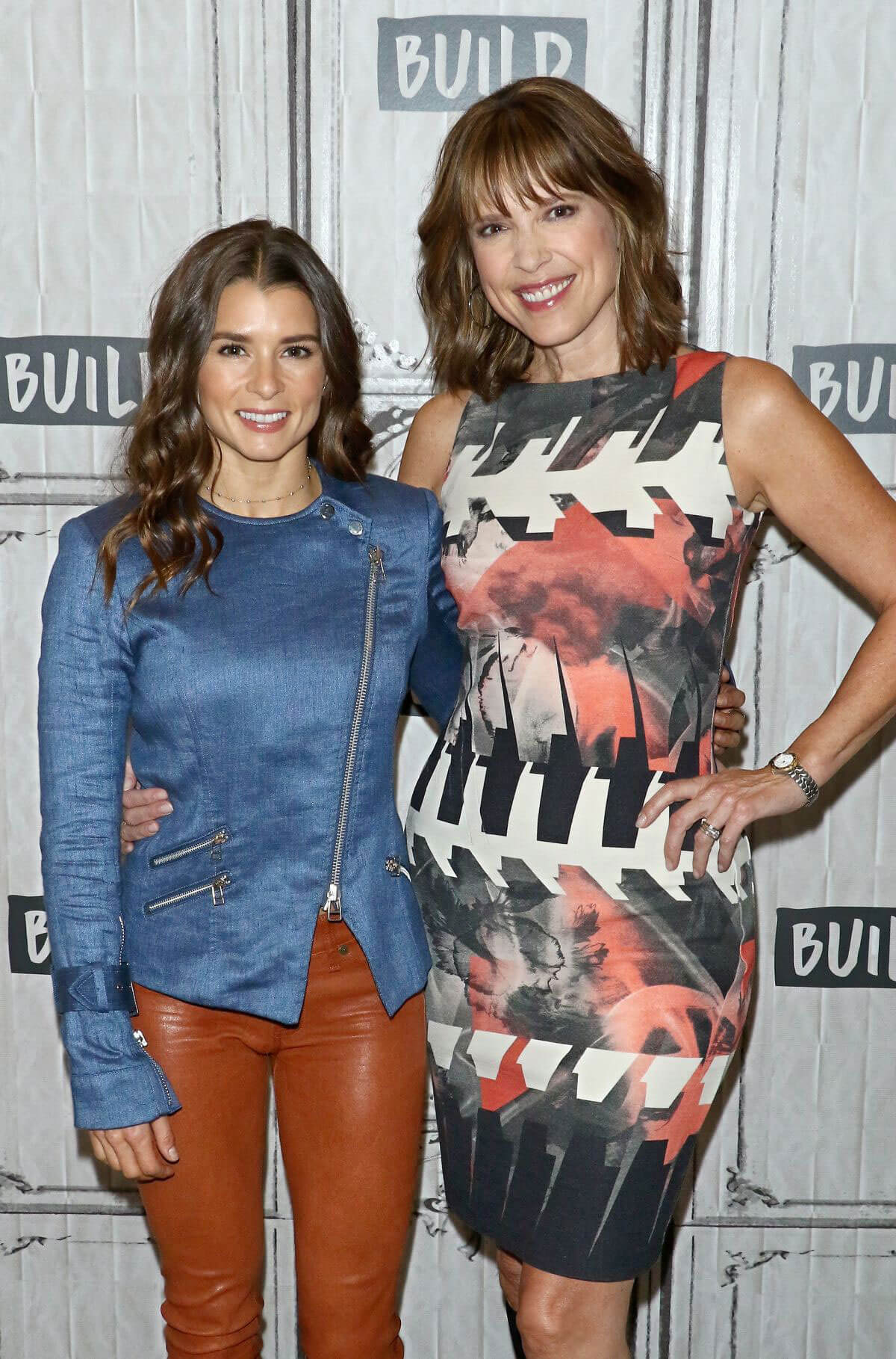 Danica Patrick Stills at Build Series to Discuss Danica in New York