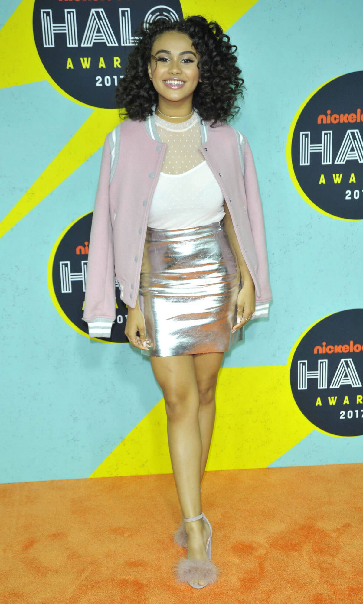 Daniella Perkins Stills at 2017 Nickelodeon Halo Awards in New York