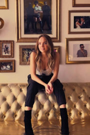 Danielle Bradbery Stills on the Set of a Photoshoot at Tidal Office