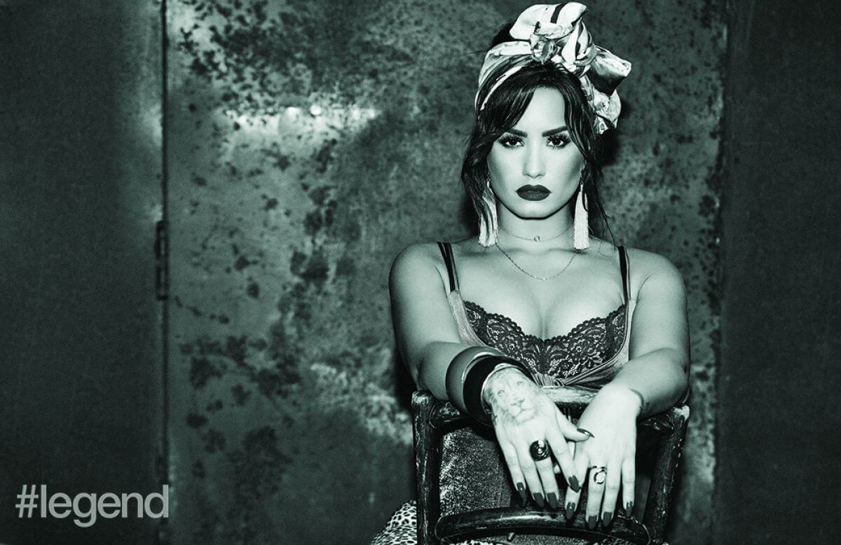 Demi Lovato Stills in Legend Magazine Photoshoot, November 2017