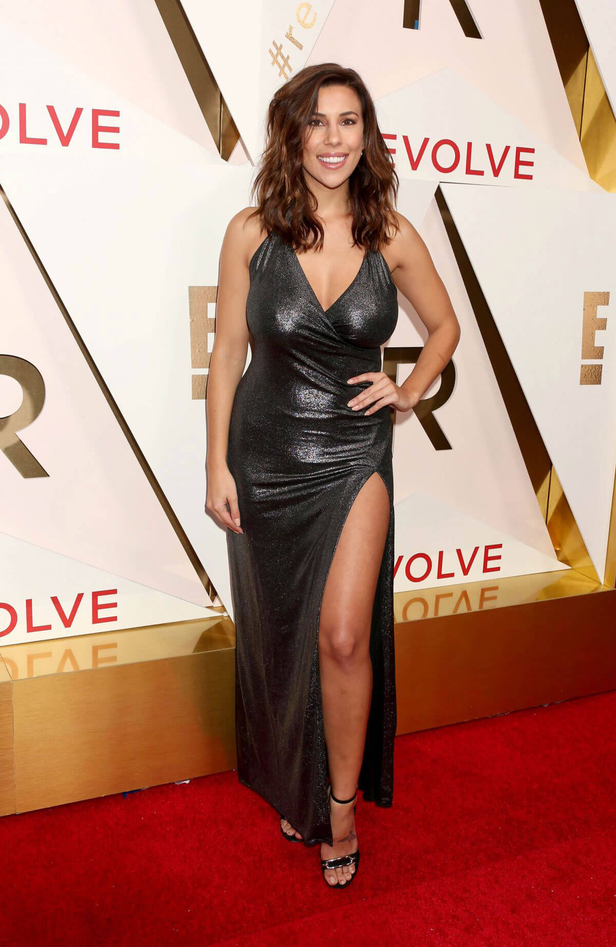 Devin Brugman shows off Legs at #revolveawards in Hollywood
