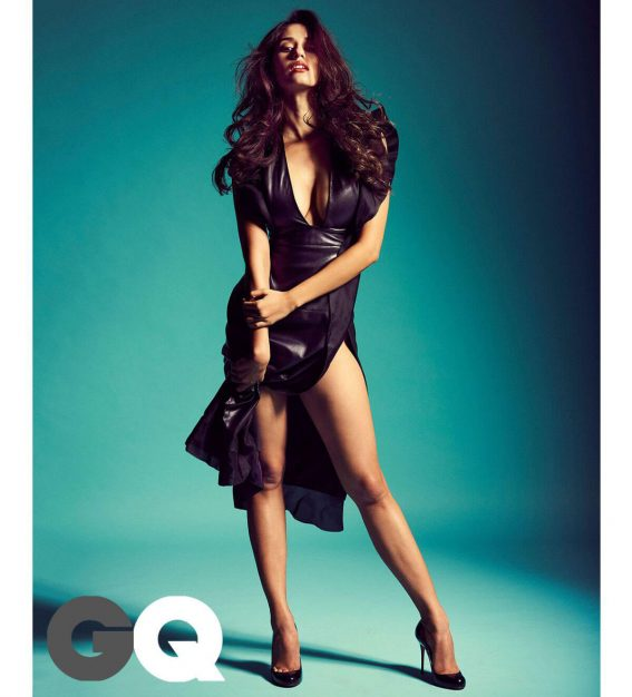 Disha Patani Poses for GQ Magazine India, July 2017