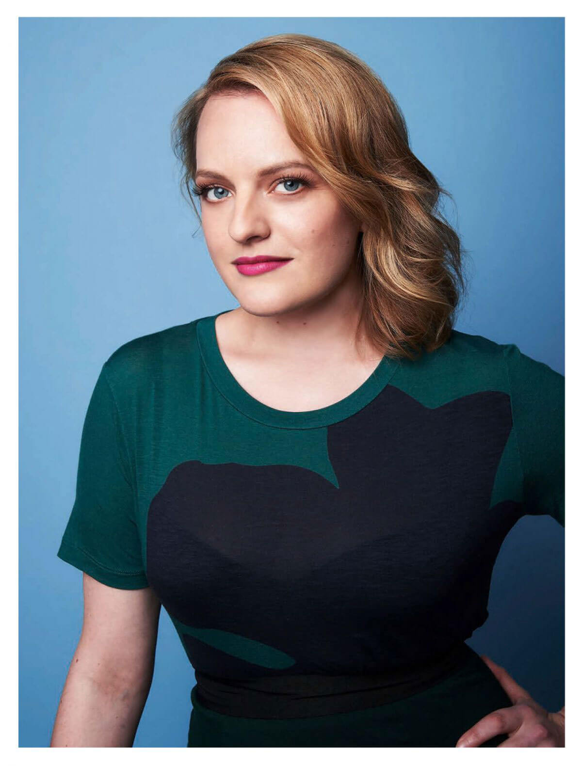 Elisabeth Moss Stills in Psychologies Magazine, October 2017