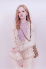 Ellie Bamber Poses for Chanel 31 Rue Cambon Magazine, 2017