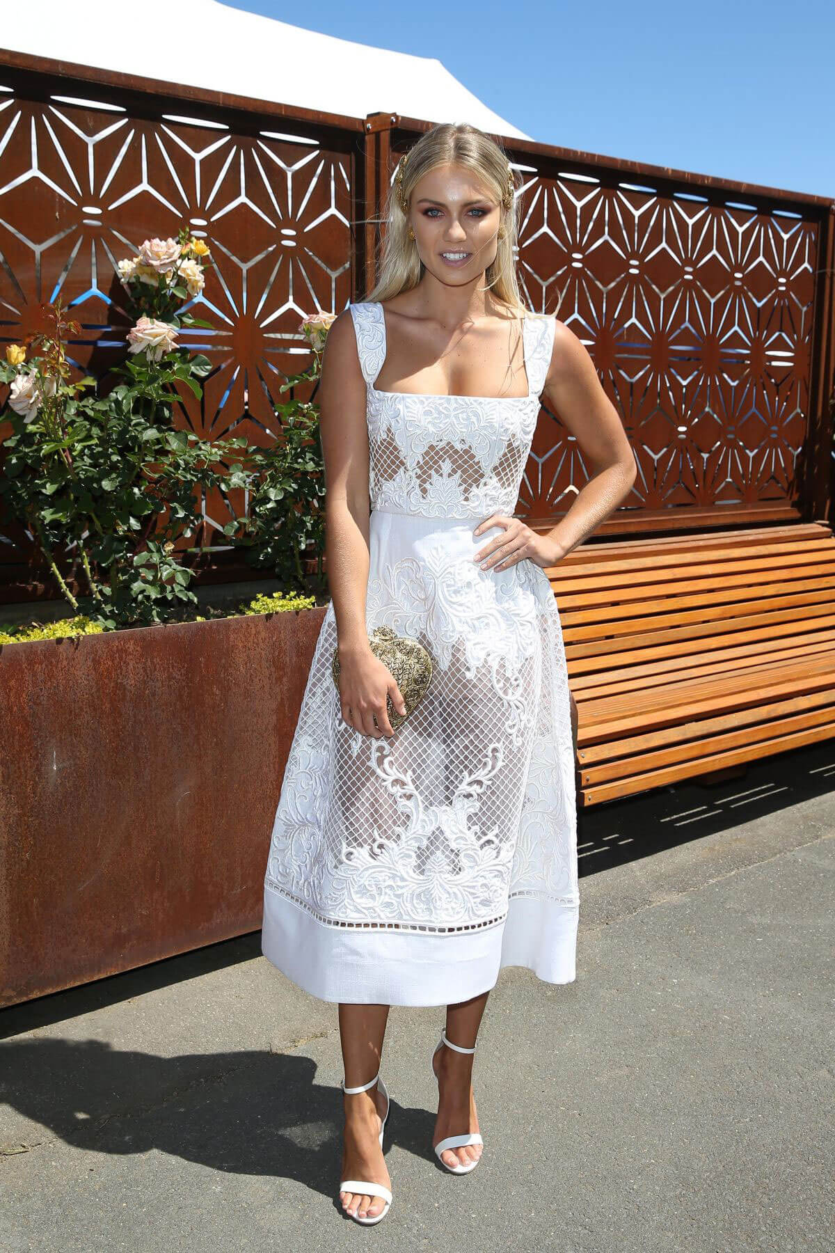 Elyse Knowles Stills at Derby Day in Melbourne, November 2017