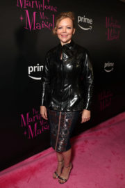 Emily Bergl Stills at The Marvelous Mrs. Maisel TV SERIES Premiere in New York