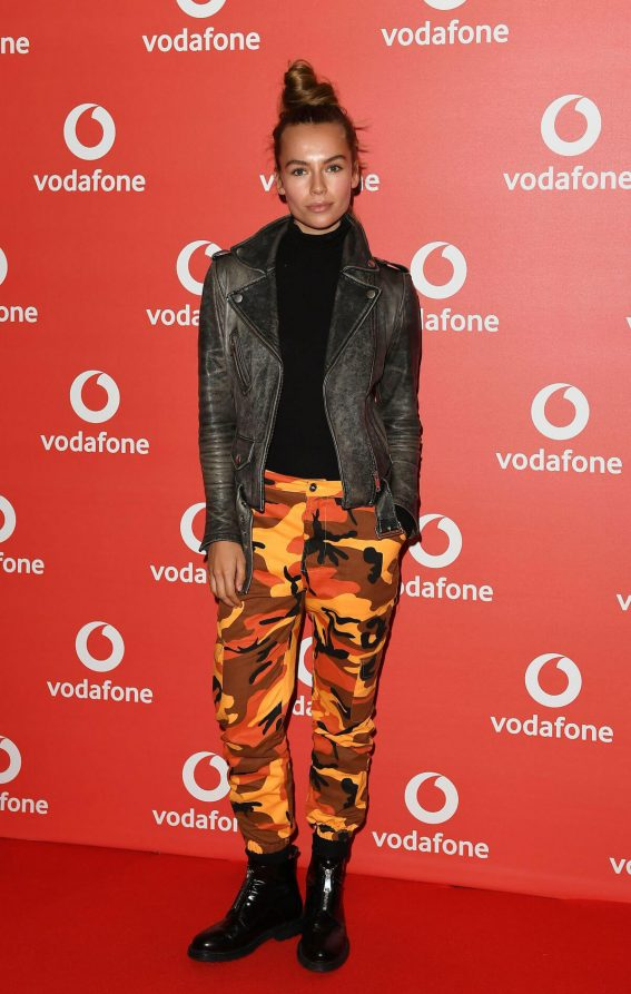 Emma Louise Connolly Stills at Vodafone Passes Launch in London