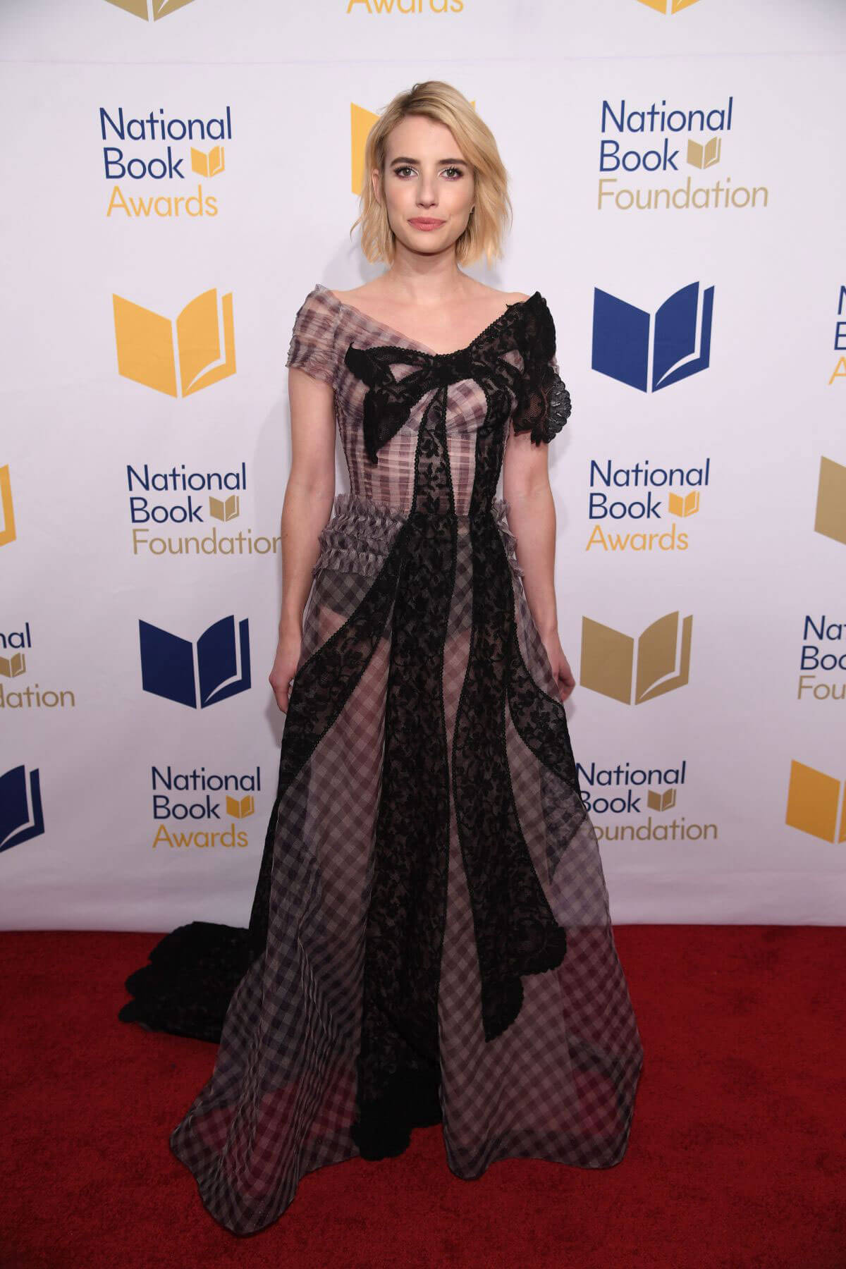 Emma Roberts Stills at 68th National Book Awards 2017 in New York