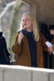 Emma Stone Stills on the Set of Maniac in New York Images