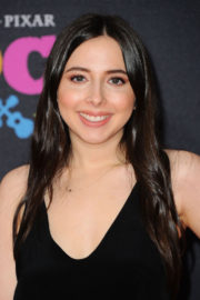 Esther Povitsky wears Black Dress at Coco Premiere in Los Angeles