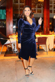 Eva Longoria Stills Out for Dinner at Cipriani in New York