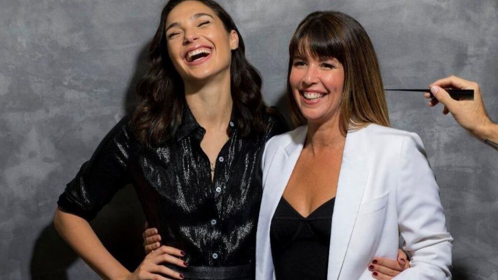 Gal Gadot and Patty Jenkins Poses for Los Angeles Times Magazine, December 2017