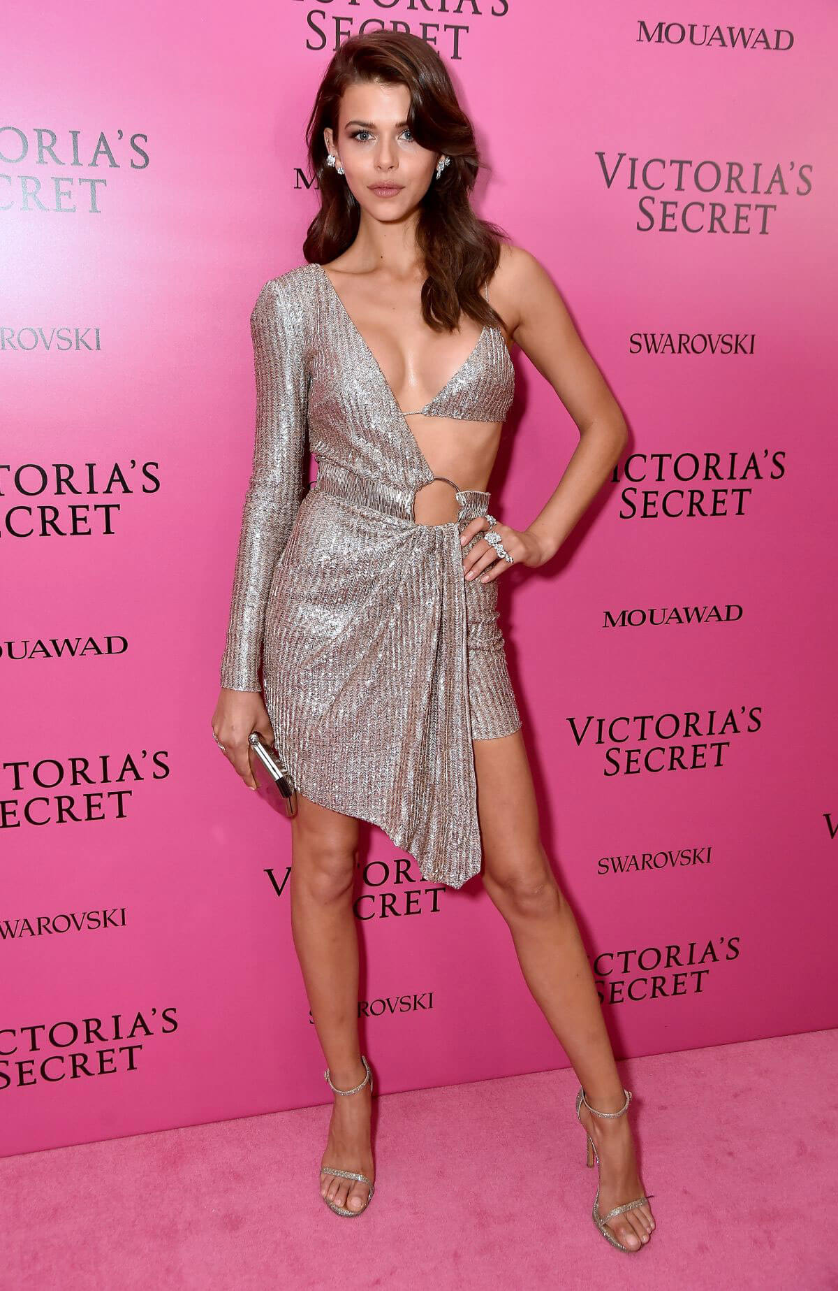 Georgia Fowler Stills at 2017 Victoria's Secret Fashion Show After Party in Shanghai