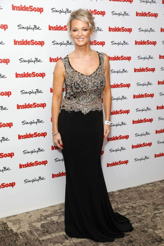 Gillian Taylforth Stills at Inside Soap Awards 2017 in London