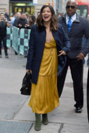 Gina Rodriguez Stills Leaves AOL Build in New York Images