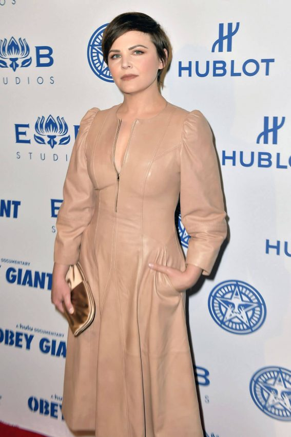 Ginnifer Goodwin Stills at Elysium Bandini Studios Presents Obey Giant in Los Angeles