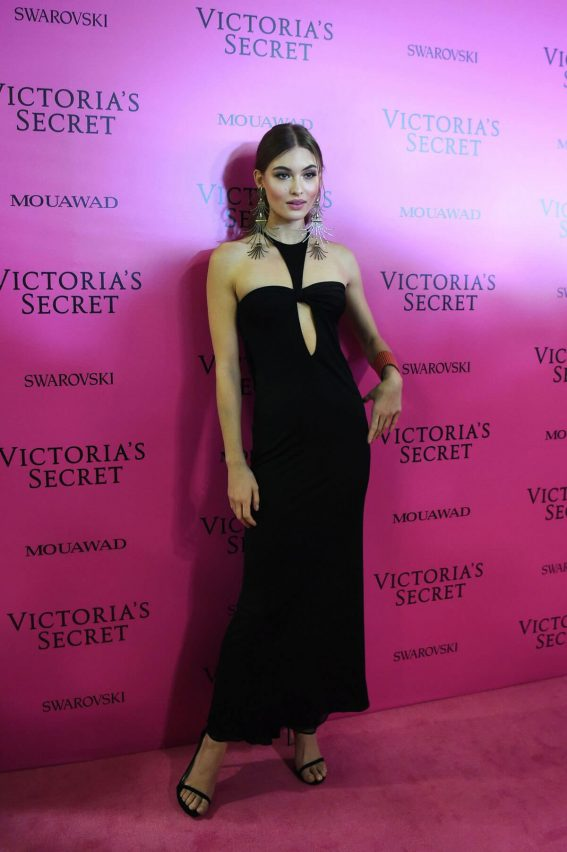 Grace Elizabeth Stills at 2017 Victoria's Secret Fashion Show After Party in Shanghai