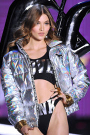 Grace Elizabeth Stills at 2017 Victoria's Secret Fashion Show in Shanghai