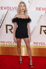 Hailey Baldwin wears Hot Dress at #revolveawards in Hollywood