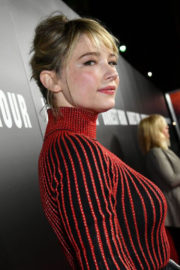 Haley Bennett Stills at Darkest Hour Premiere in Los Angeles