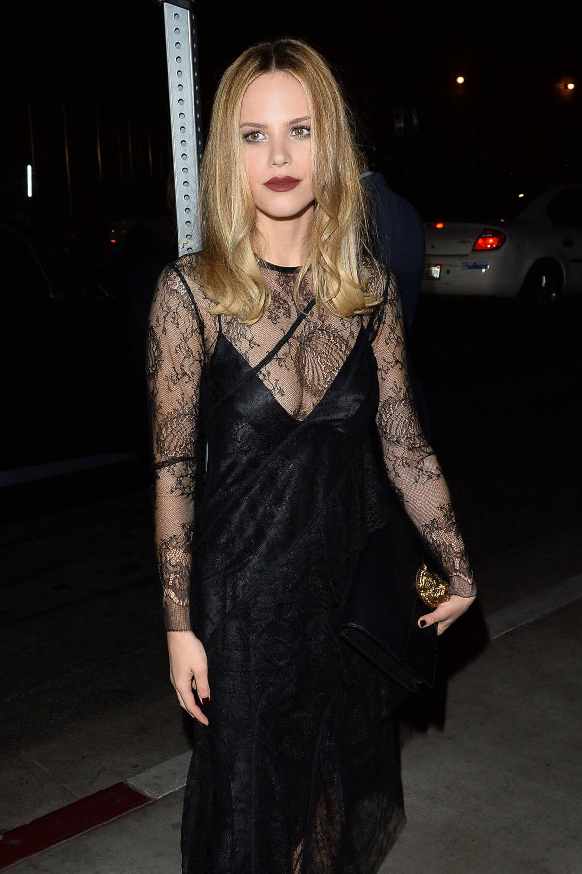 Halston Sage Stills at Fred Hollows Foundation Inaugural Fundraising Gala in Los Angeles