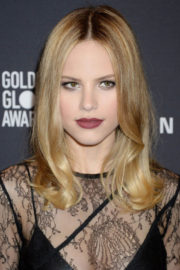 Halston Sage Stills at HFPA & Instyle Celebrate 75th Anniversary of the Golden Globes in Los Angeles
