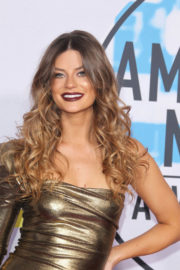 Hannah Stocking and Lele Pons Stills at American Music Awards 2017 in Los Angeles