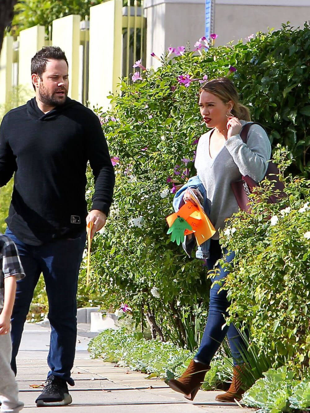 Hilary Duff and Mike Comrie Stills Out in Los Angeles