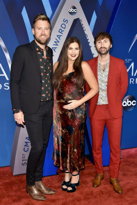 Hillary Scott Stills at 51st Annual CMA Awards 2017 in Nashville 11/08/2017
