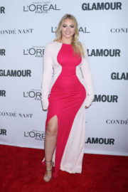 Iskra Lawrence Stills at Glamour Women of the Year Summit in New York