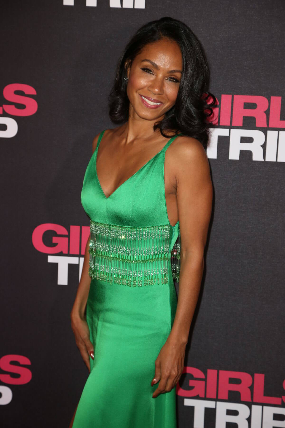 Jada Pinkett Smith Stills at Girls Trip Premiere in Paris