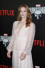 Jaime Ray Newman Stills at The Punisher TV Show Premiere in New York