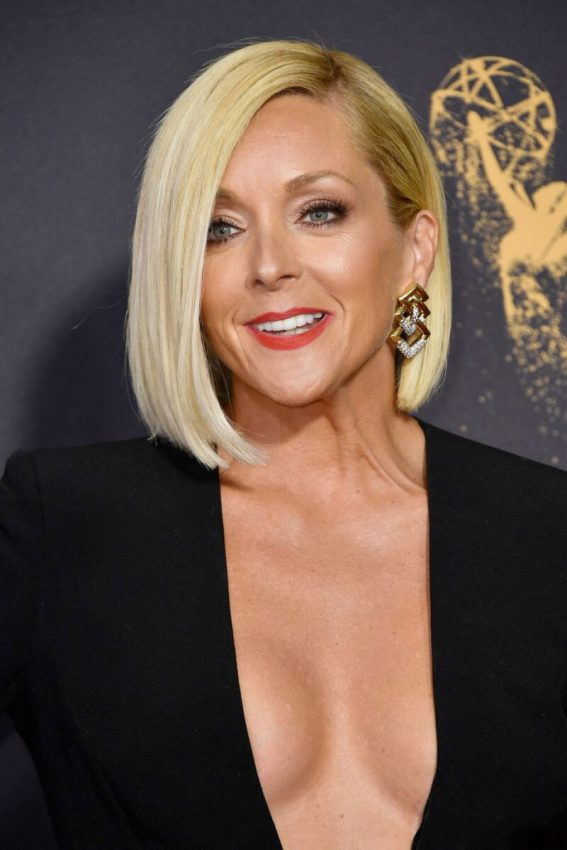 Jane Krakowski at 69th Annual Primetime EMMY Awards in Los Angeles