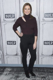 Jenna Fischer Stills Discuss Her Book The Actor's Life: A Survival Guide at AOL Studios in New York