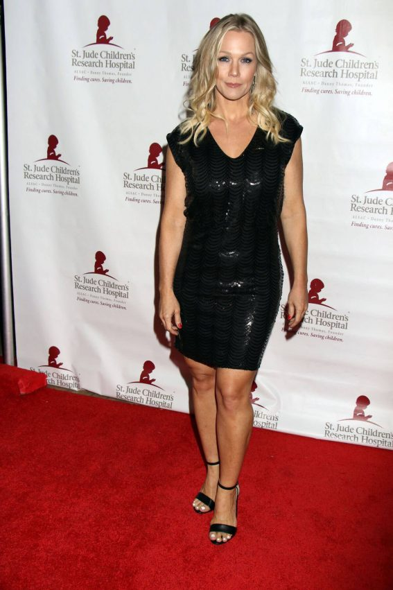 Jennie Garth Stills at St. Jude Against All Odds Celebrity Poker Tournament in Las Vegas