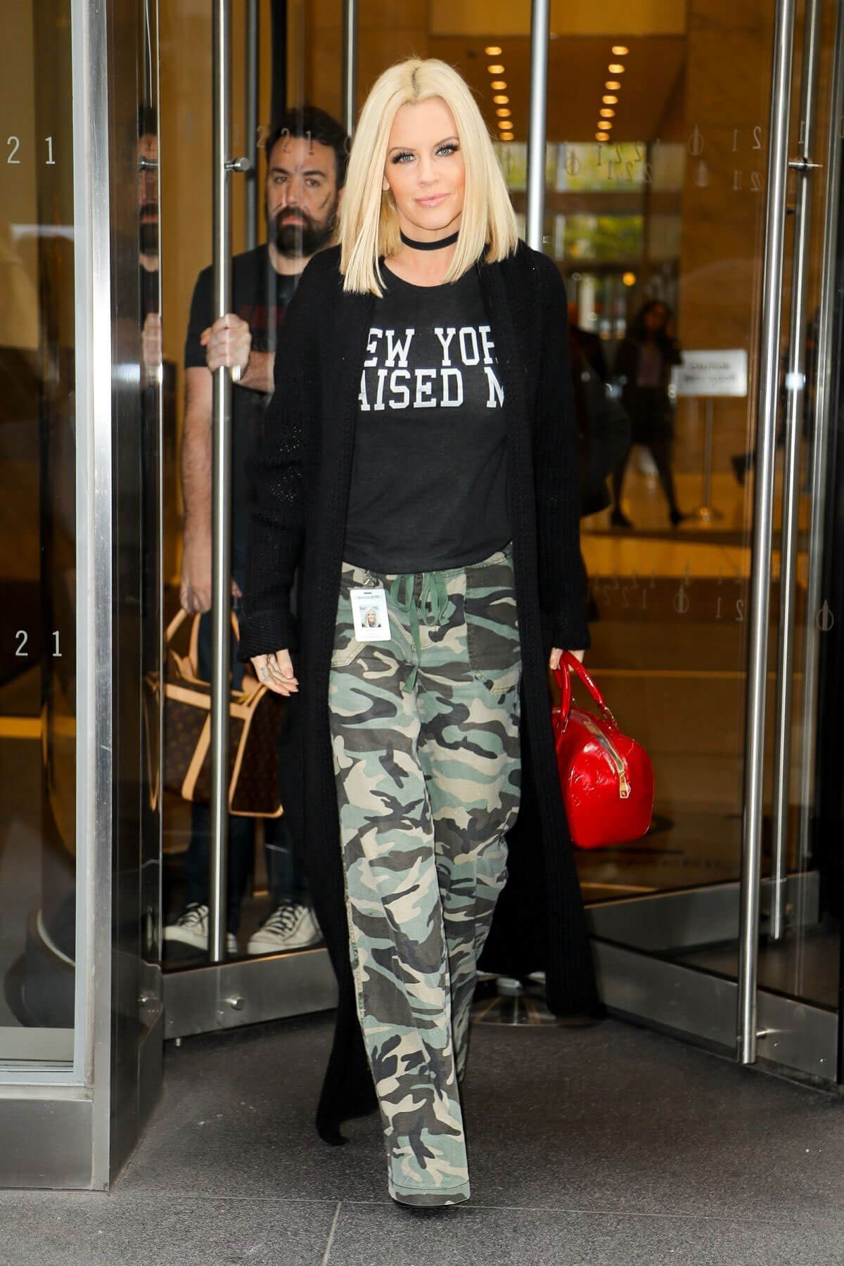 Jenny McCarthy Stills Out and About in New York Images