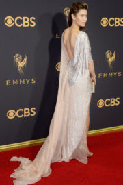 Jessica Biel at 69th Annual Primetime EMMY Awards in Los Angeles