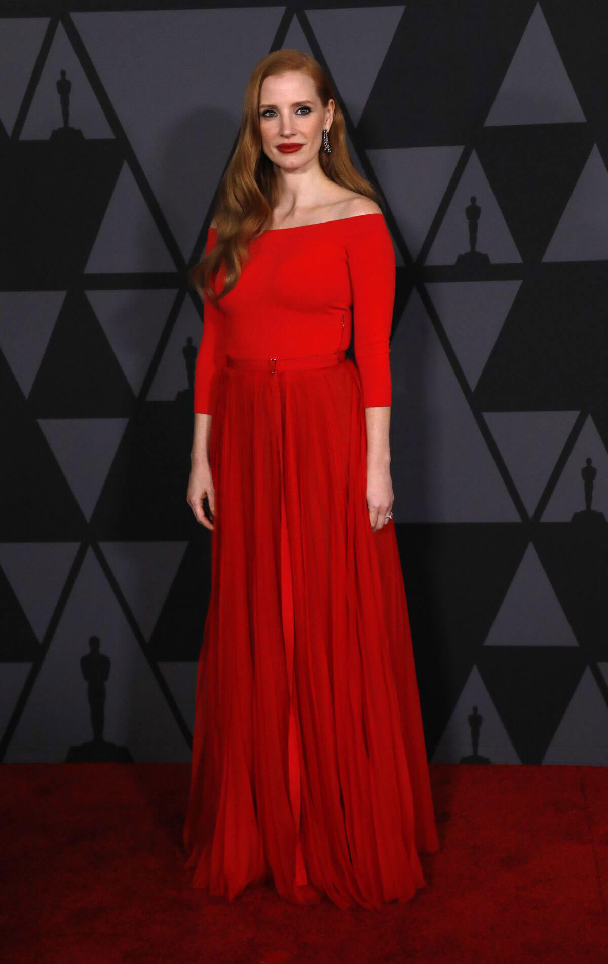Jessica Chastain Stills at AMPAS 9th Annual Governors Awards in Hollywood